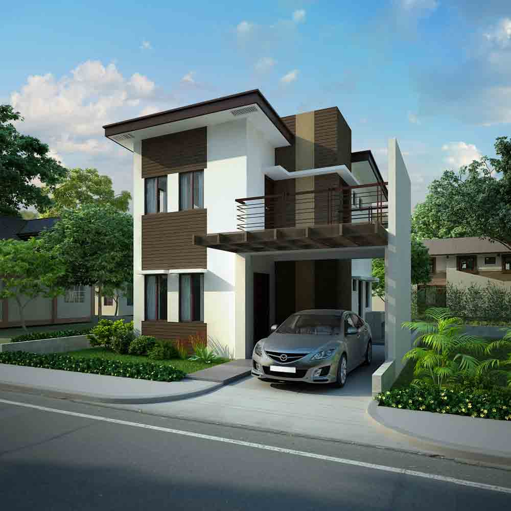 Model Houses In Subdivision House And Home Design