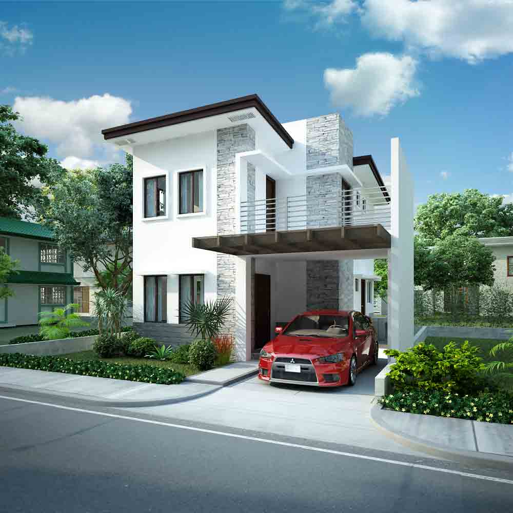 St james homes model houses naga city real estate for Houses models