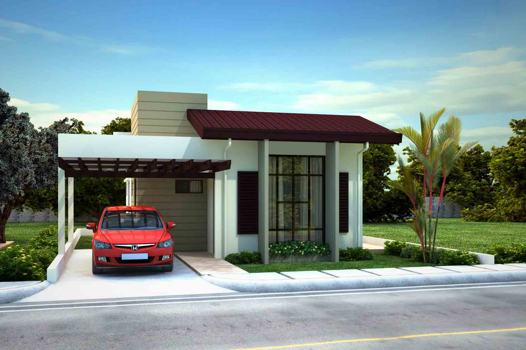 St james homes model houses naga city real estate for The model house