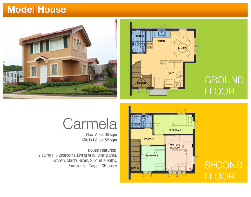 Camella Homes Model Houses
